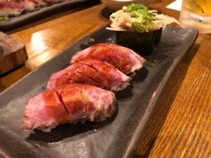 人形町 肉寿司